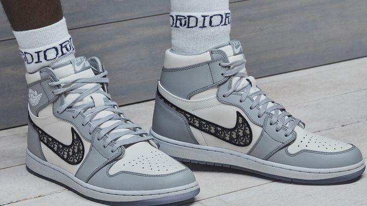 Nike x Dior : une date et les premières images de la Air Jordan 1