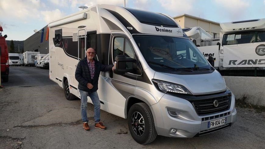 Joël Maillet vit aujourd'hui dans son camping-car