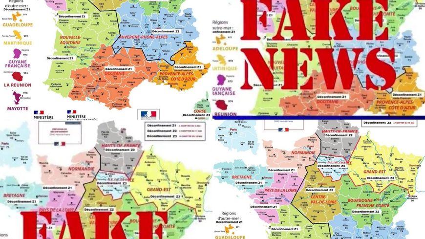 Coronavirus Cyril Hanouna Relaie Une Fake News Sur Le Deconfinement Basee Sur Une Fausse Carte