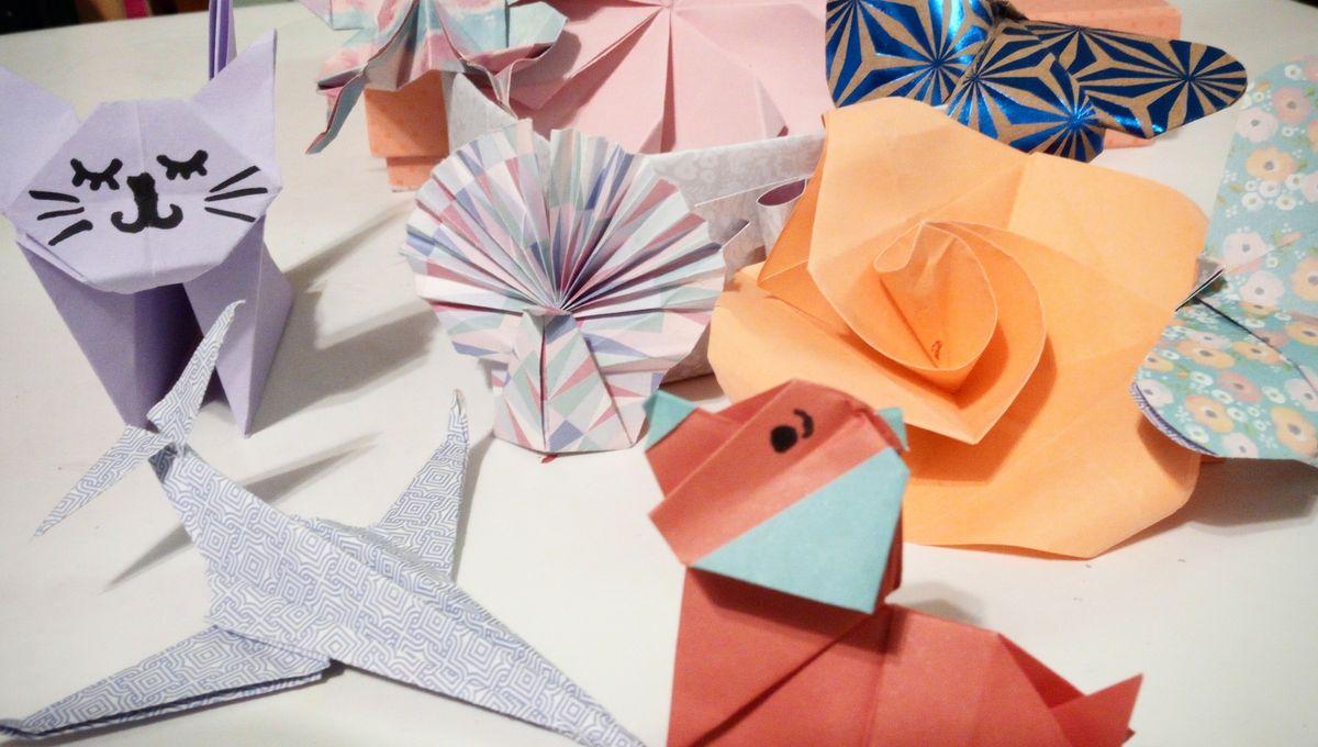 On S Occupe Pendant Le Confinement Des Origamis Pour Tous