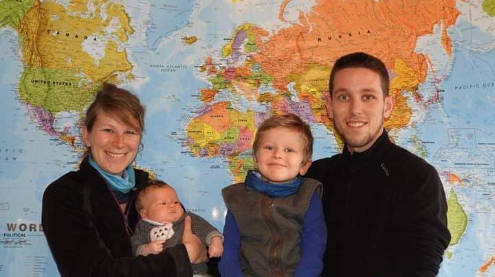 La famille Rostaing est repartie au Pérou début février.