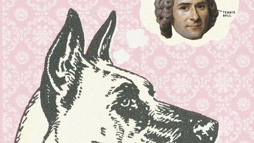 Rousseau et le chien danois