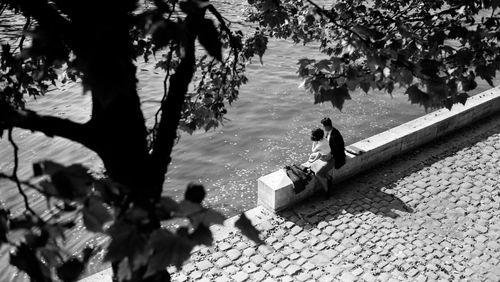 La Nuit rêvée de Fabrice Luchini (2014) (4/11) : Un livre, des voix - Bernard Privat