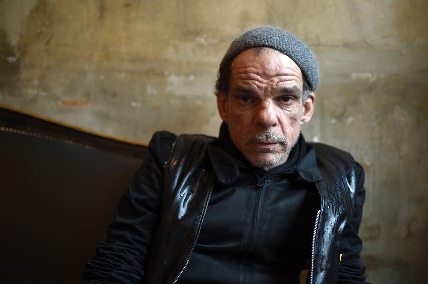 Portrait de l'acteur Denis Lavant en juin 2015
