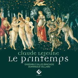 Le printemps : 8. Voicy le verd et beau may - pour ensemble vocal a cappella