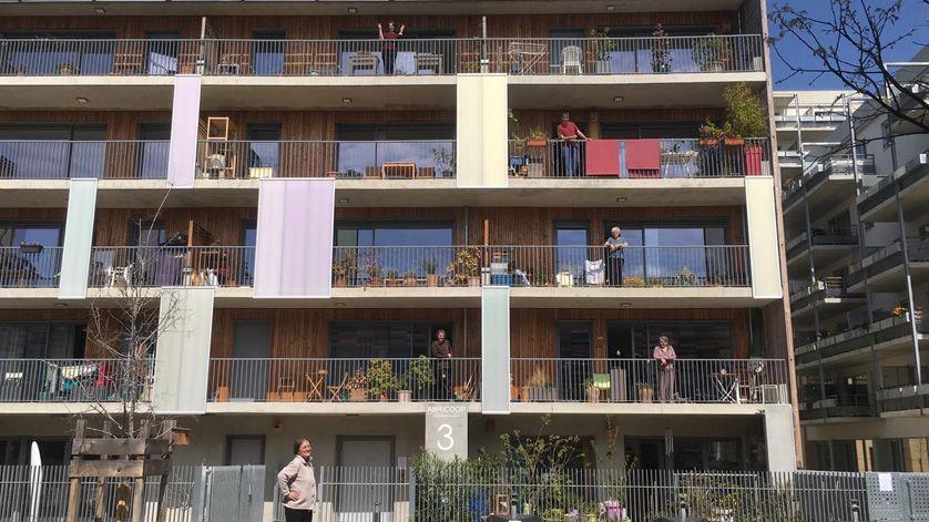 La coopérative d'habitants Abricoop à Toulouse pendant le confinement