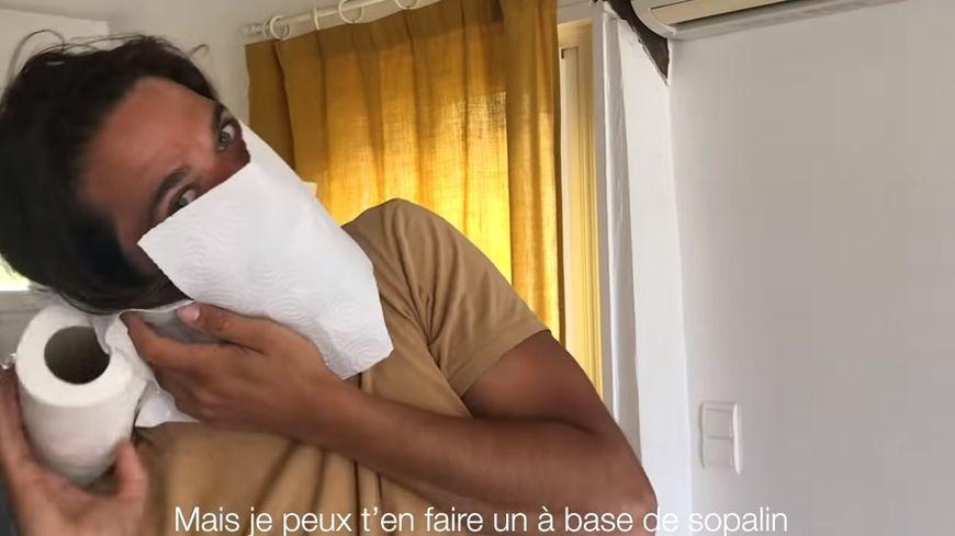 """Le clip des Goguettes """"T'as voulu voir le salon""""."""