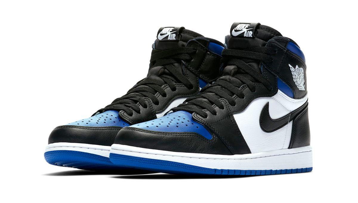 air jordan 1 bleu noir