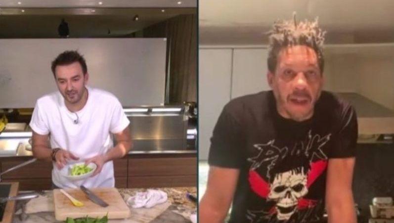 Quand Joeystarr Engueule Cyril Lignac Pendant Son Cours De Cuisine