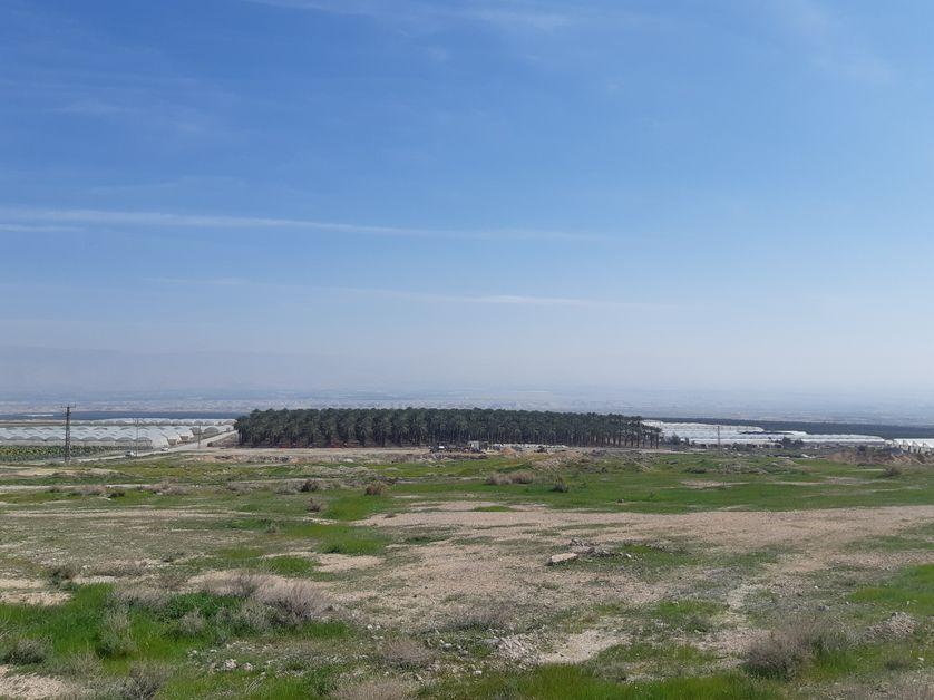 Israël considère la vallée du Jourdain, adossée à la Jordanie voisine (ici en arrière-plan) comme une zone stratégique.