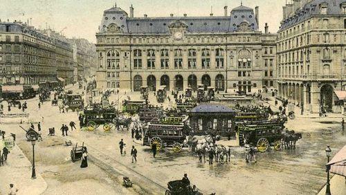 """Épisode 2 : """"Visitez Paris avec nous"""" : la Gare Saint-Lazare"""