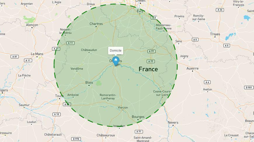 Limite Des 100 Km Depuis Le Loiret Jusqu Ou Pourra T On Se Deplacer Sans Attestation A Partir Du 11 Mai