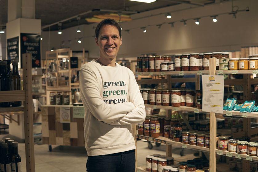Pierrick de Ronne, président de Biocoop