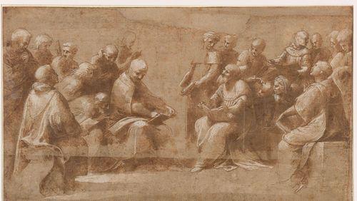 Artistes confinés dans leur exposition (2/4) : Raphaël et ses élèves, à Chantilly