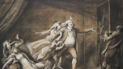 Artistes confinés dans leur exposition (4/4) : Jean-Marie Delaperche, un artiste face aux tourments de l'histoire, à Orléans