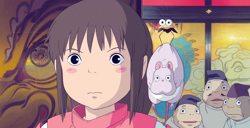 """Chihiro dans """"Le Voyage de Chihiro"""" de Hayao Miyazaki (Image : Archives du 7eme Art)"""