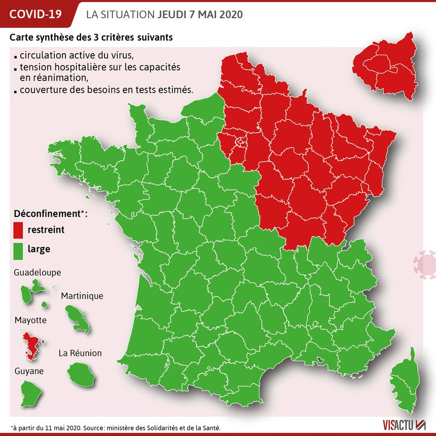 Carte Du Deconfinement Le Departement Du Loiret Classe En Vert
