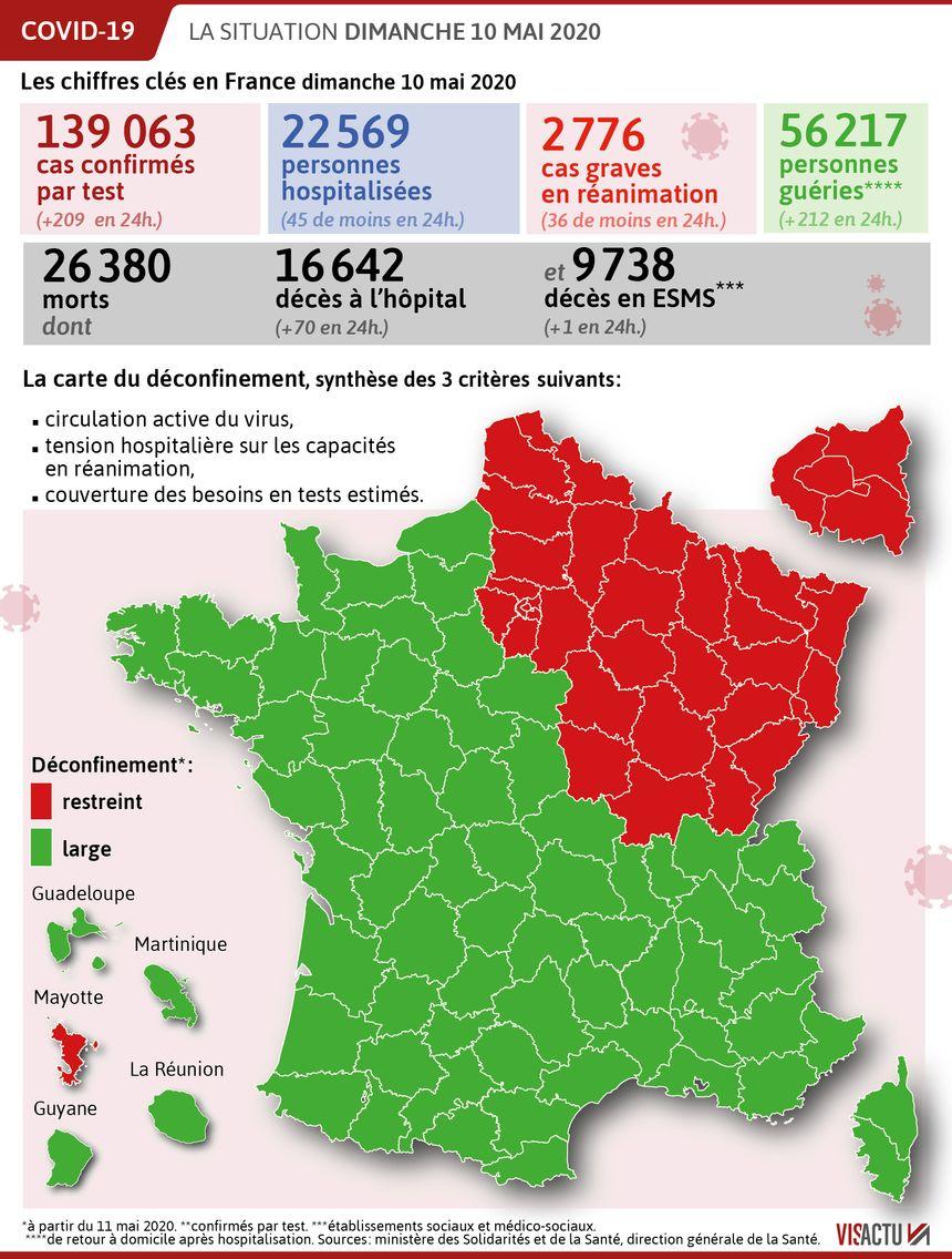 Coronavirus 70 Deces En 24 Heures En France Appels A La Prudence A La Veille Du Deconfinement