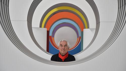 """Daniel Buren : """"La couleur est la seule chose qui soit intrinsèquement impossible à décrire, c'est de la pensée pure"""""""
