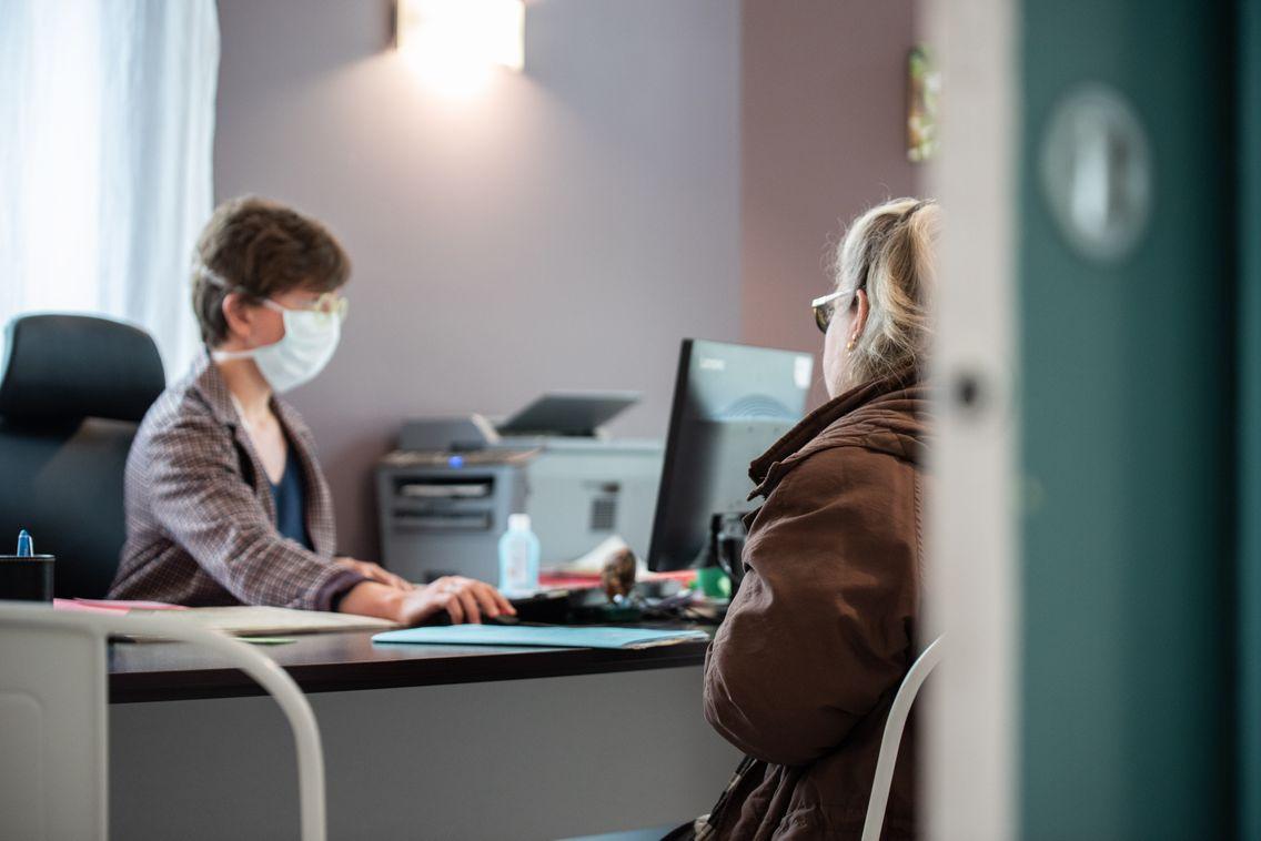 Une consultation dans un cabinet de médecine générale. Image d'illustration.