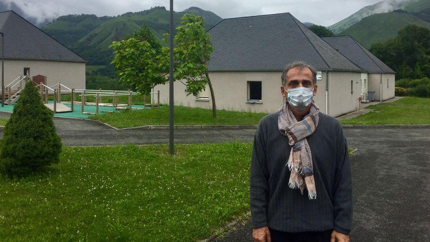 Alain Quintana, directeur du foyer d'accueil médicalisé pour adultes handicapés Saint-Berthoumieu de Bedous.
