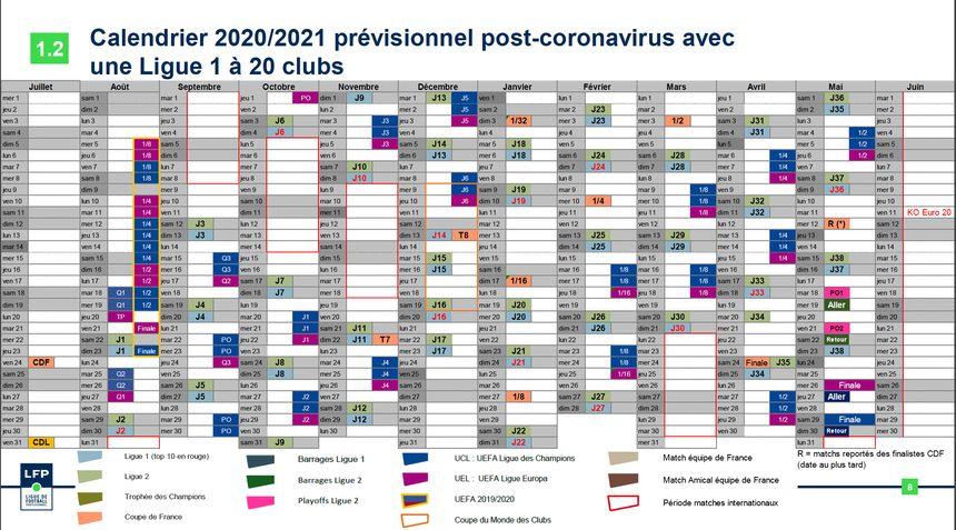 FC Metz : la LFP valide le calendrier 2020 2021 des compétitions