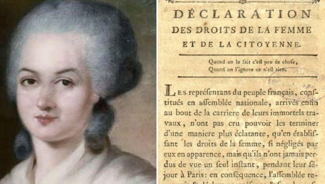 Olympe de Gouges, figure de l'Histoire et emblème du féminisme