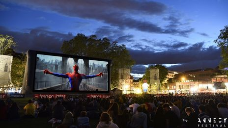 Annecy : le Festival du film d'animation d'Annecy reprend ses projections en plein air