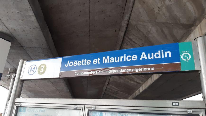 À Bagnolet, des militants rebaptisent la station de métro Gallieni