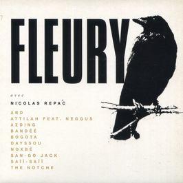 """Pochette de l'album """"Fleury"""" par Azding"""