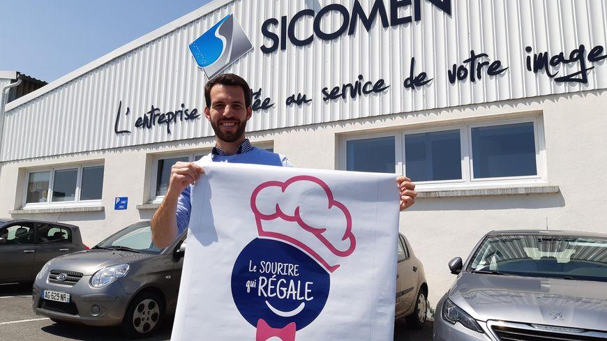 Geoffroy D'Hueppe est à l'origine de ce projet de food truck solidaire.