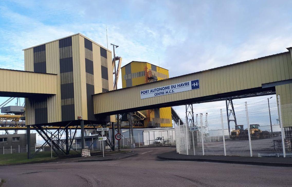 L'une des entrées du Port autonome du Havre.