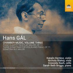 Quatuor avec piano en Si bémol Maj op 13 : 3. Agitato - KATALIN KERTESZ