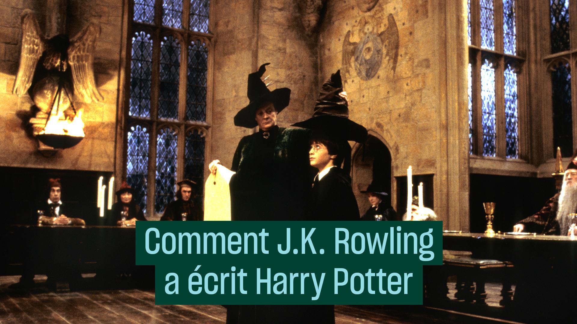 Comment J.K. Rowling a écrit Harry Potter