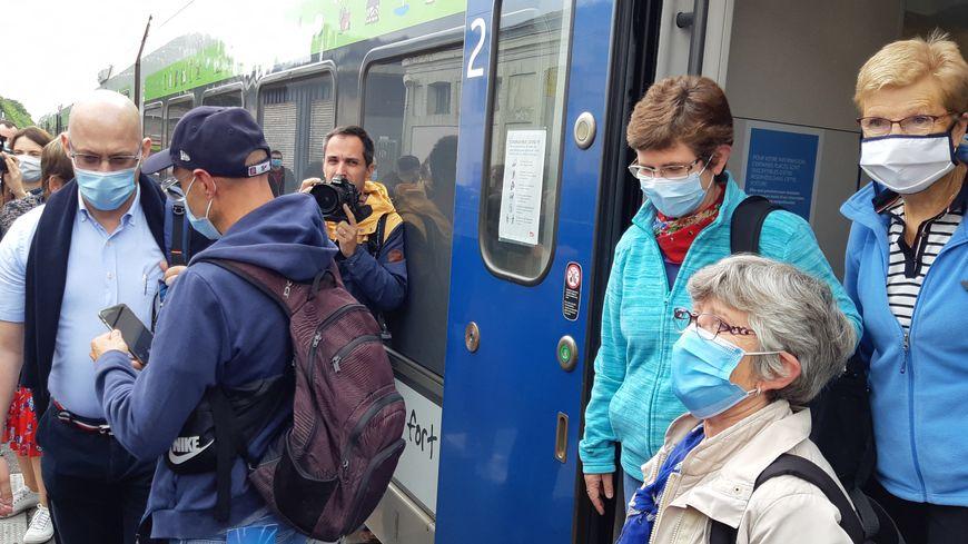 Paris - Le Mont-Saint-Michel : lancement de la première liaison directe en train via Pontorson