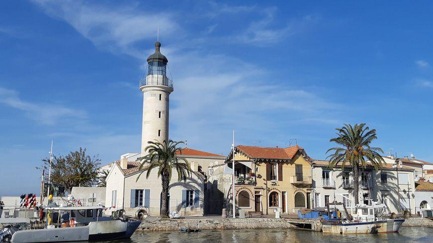 L'ancien phare du Grau-du-Roi, restauré.