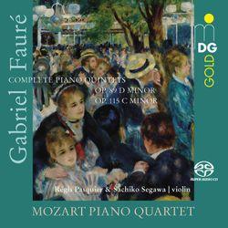 Quintette avec piano n°1 en ré min op 89 : 1. Molto moderato - REGIS PASQUIER