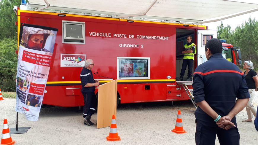 Les pompiers de la Gironde déploient leur dispositif estival contre les feux de forêt