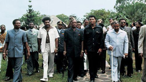 Un cri dans la jungle: Foreman-Ali, le K.O musical