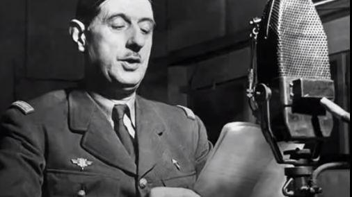 De Gaulle, son appel du 18 juin