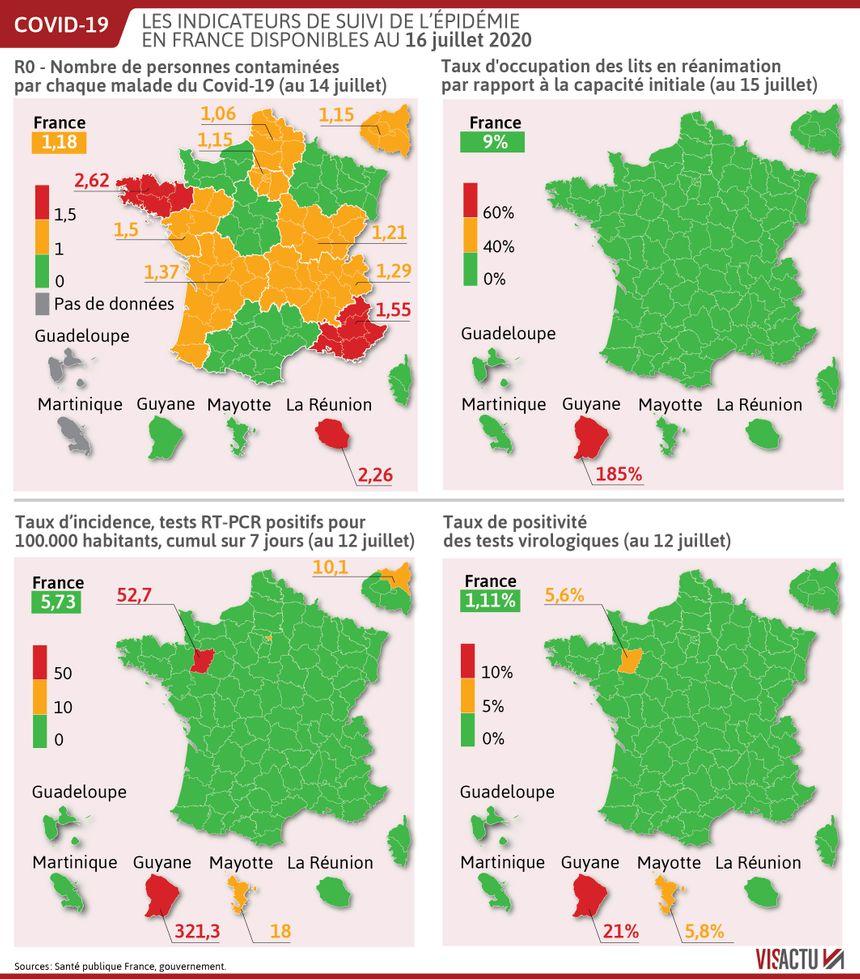Coronavirus En Bretagne Situation Inquietante Avec Un Taux De Reproduction A La Hausse