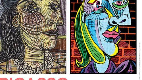 """François Olislaeger, auteur de BD, et Johan Popelard, commissaire d'exposition, dessinent ce que Picasso avait de """"comics"""""""
