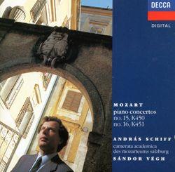 Concerto pour piano n°16 en Ré Maj K 451 : 3. Rondeau. Allegro di molto - ANDRAS SCHIFF