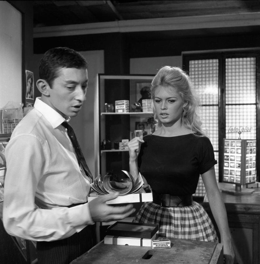 Une première rencontre ratée avec Serge Gainsbourg sur le tournage de Voulez-vous danser avec moi ?. 1959