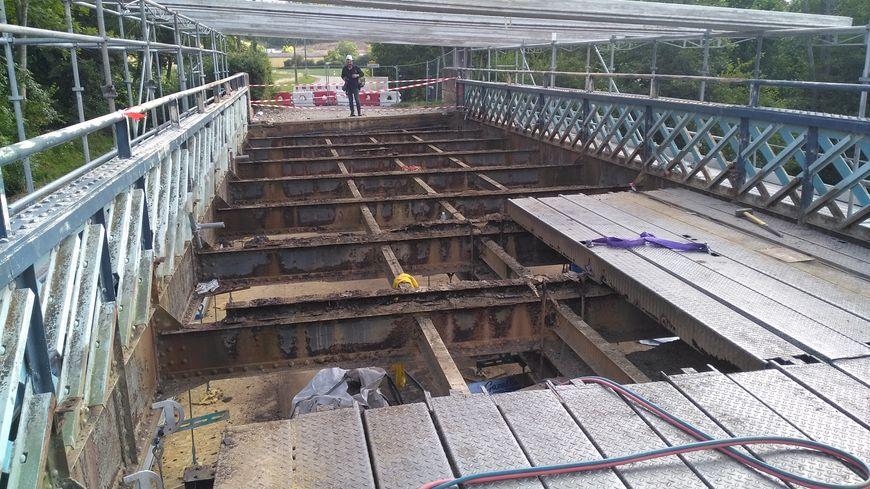 A Chichée, la réhabilitation du pont qui enjambe le Serein devenait urgente