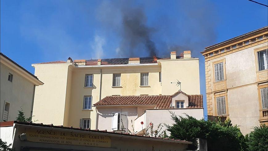 Ajaccio : 4 personnes relogées après l'incendie de leur immeuble