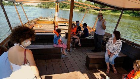 Balade en bateau sur la Loire