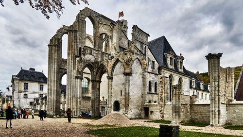 Un anglais à Saint-Wandrille (Saint-Wandrille)