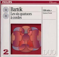 Quatuor à cordes n°1 op 7 Sz 40 BB 52 : 2. Allegretto - ANTONIN NOVAK