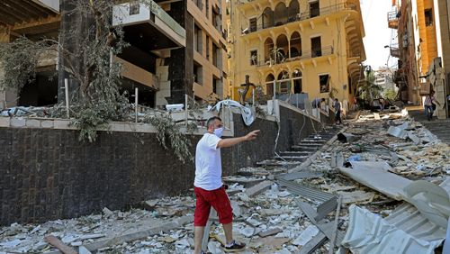 Beyrouth, année zéro